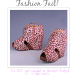 Fashion FAIL – Pink Leopard Wedges