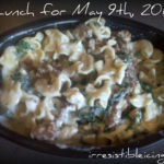 Daily Weight Watchers Journal – 5/9/2011