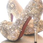 The Most Blinged Out Cinderella Shoes