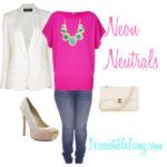 Neon Neutrals