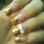 Meow! Leopard Nails!
