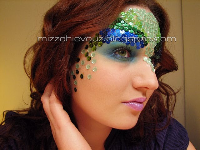 Crazy Halloween Makeup Mermaid