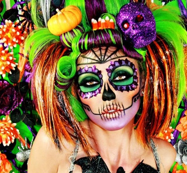 Crazy Halloween Makeup Sugar Skull