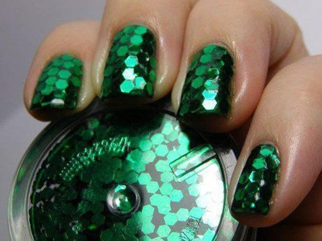 Emerald 2013 Color of the Year - Emerald Nail Polish