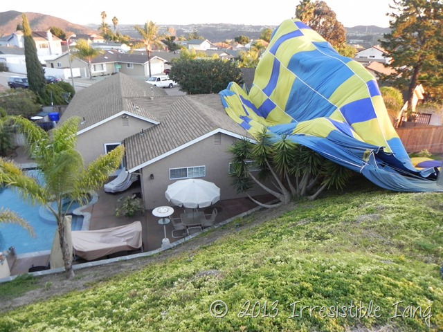 Hot Air Balloon Crash Landing San Diego