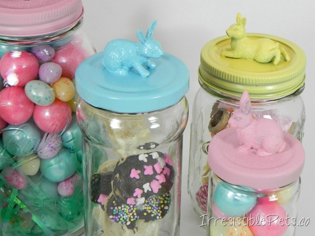 Irresistible Bunny Jars DIY