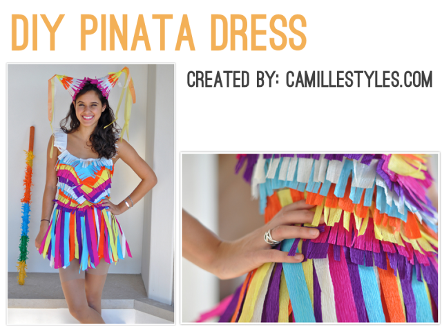 Irresistible Cinco de Mayo - DIY Pinata Dress