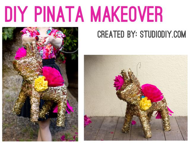 Irresistible Cinco de Mayo - DIY Pinata Makeover