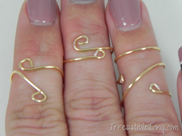 DIY Knuckle Rings