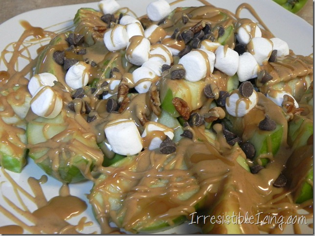 Irresistible Apple Nachos