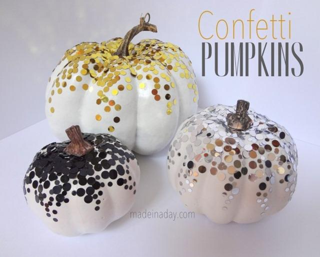 Confetti-Pumpkins