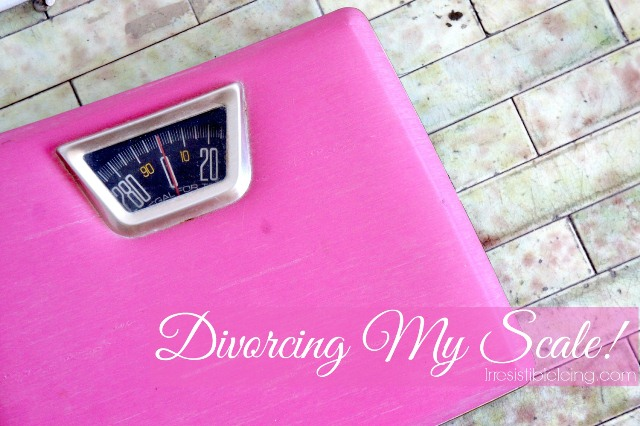 Divorcing My Scale at Irresistibleicing.com