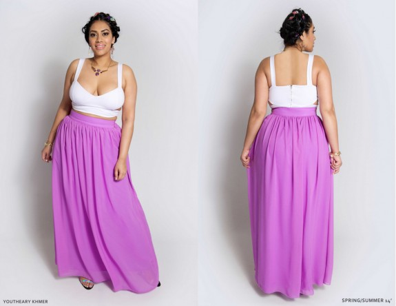 2014 spring plus size fashion