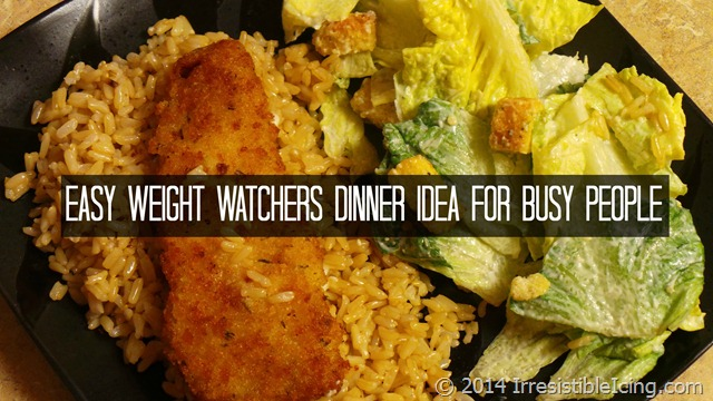Easy Weight Watchers Dinner Idea for Busy People at IrresistibleIcing.com