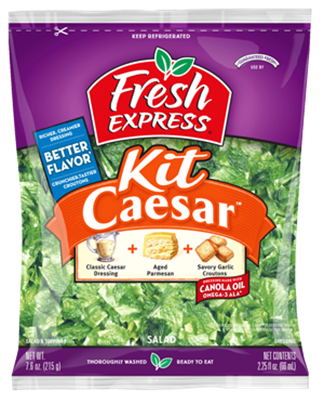 fresh express caesar salad weight watchers