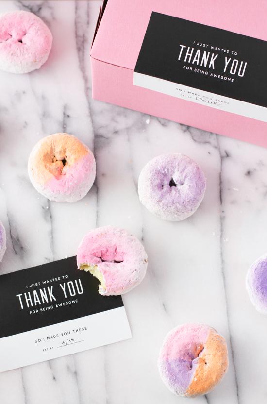 DIY Ombre Donuts