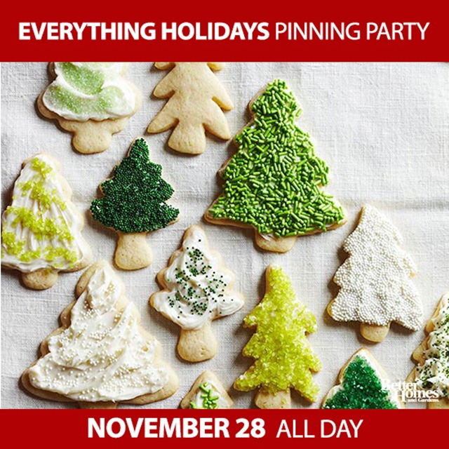 Everything Holidays Pinning Party