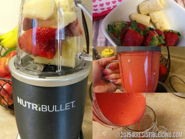 Strawberry Smoothie Nutribullet