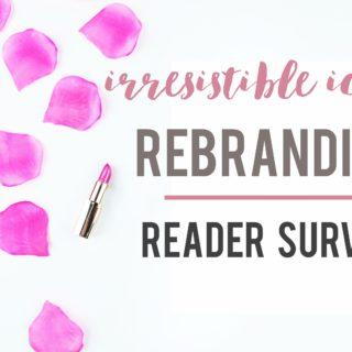 Irresistible Icing Rebranding Reader Survey