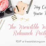 You're Invited to the Irresistible Icing Relaunch Party!