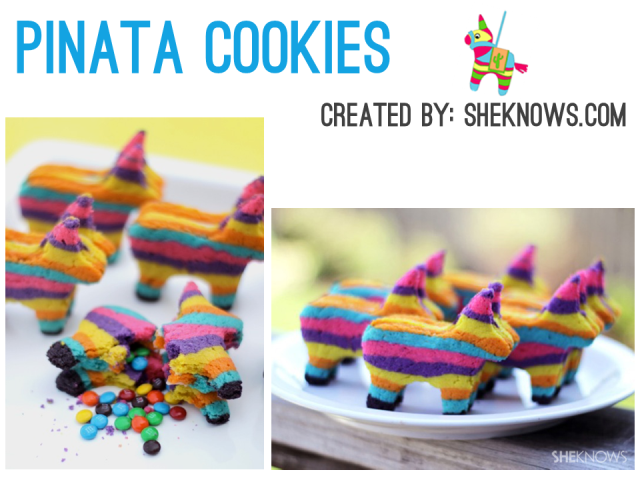 Irresistible Cinco de Mayo - DIY Pinata Cookies