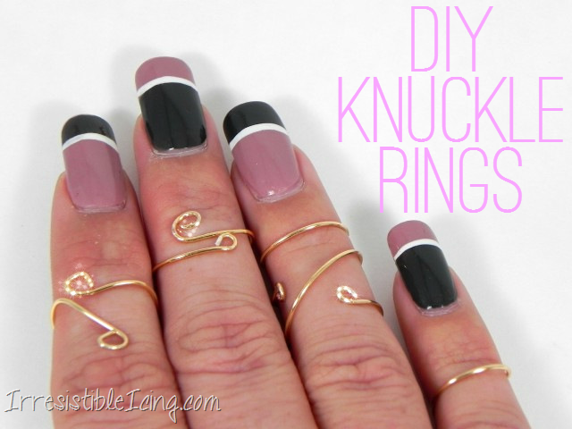 DIY Knuckle Rings by IrresistibleIcing