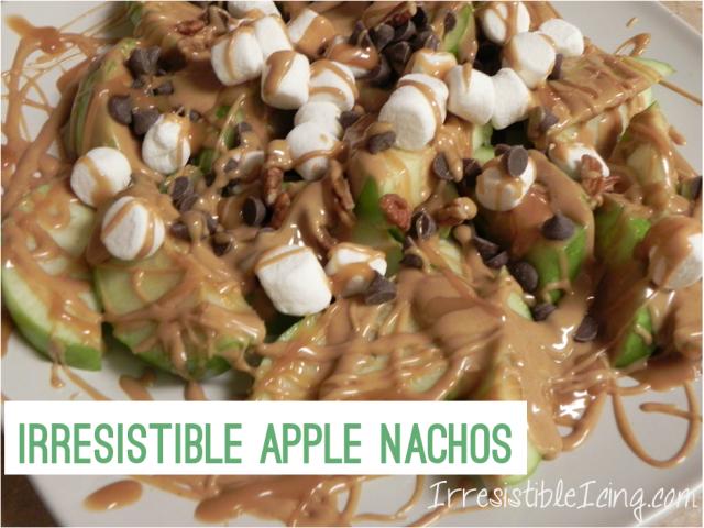 Irresistible Apple Nachos on IrresistibleIcing.com