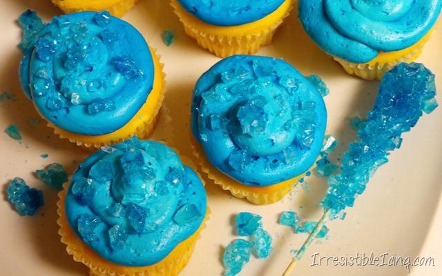 Breaking Bad Irresistible Blue Sky Cupcakes - Irresistible ...