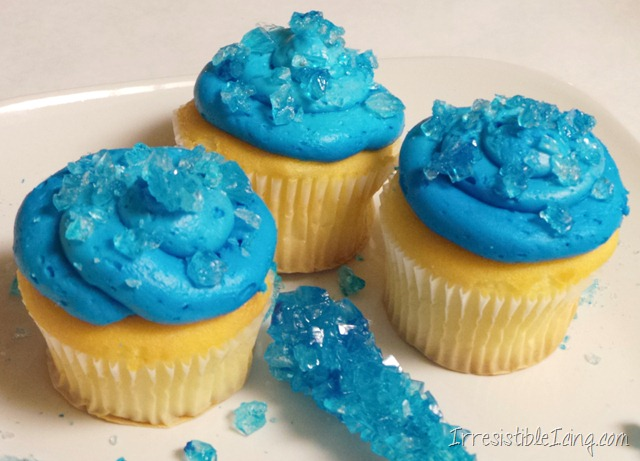 Breaking Bad Irresistible Blue Sky Cupakes