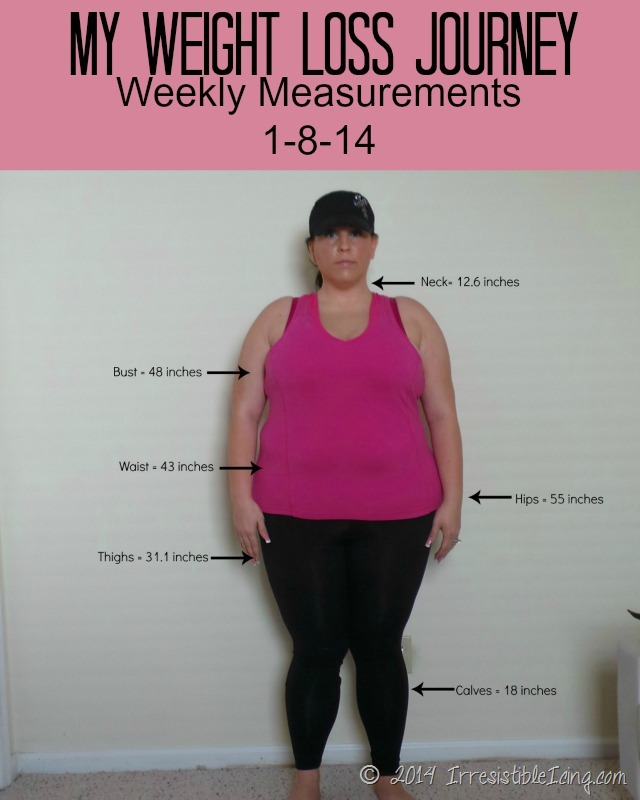 Weekly Measurements for 1-8-14
