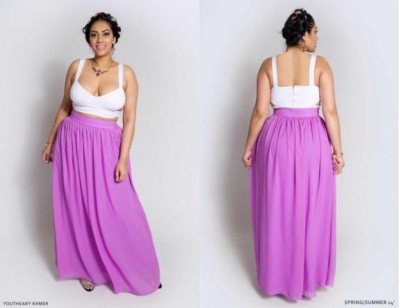 2014 spring plus size fashion