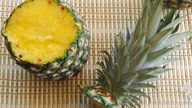 Irresistible Skinny Pina Colada Recipe Cut Pineapple- IrresistibleIcing.com