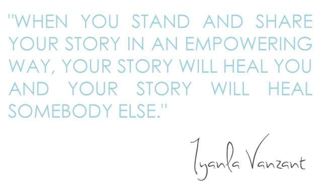 Share Your Story Quote