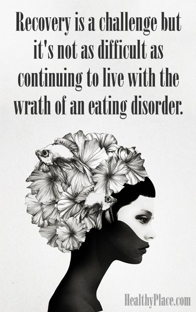 Binge Eating Disorder Quote