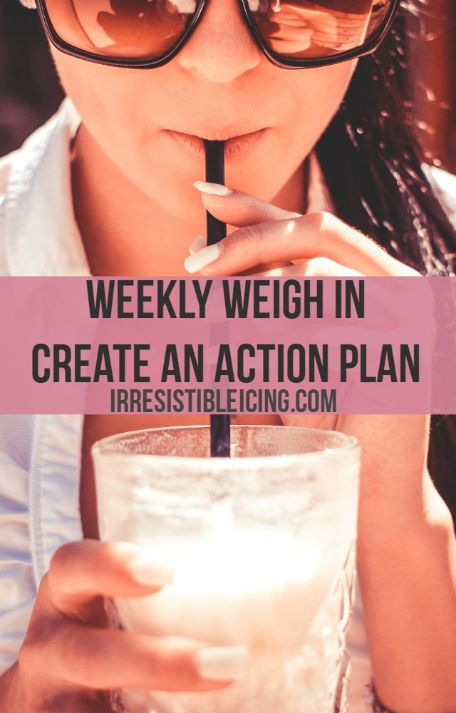 Create An Action Plan for Weight Loss by IrresistibleIcing.com