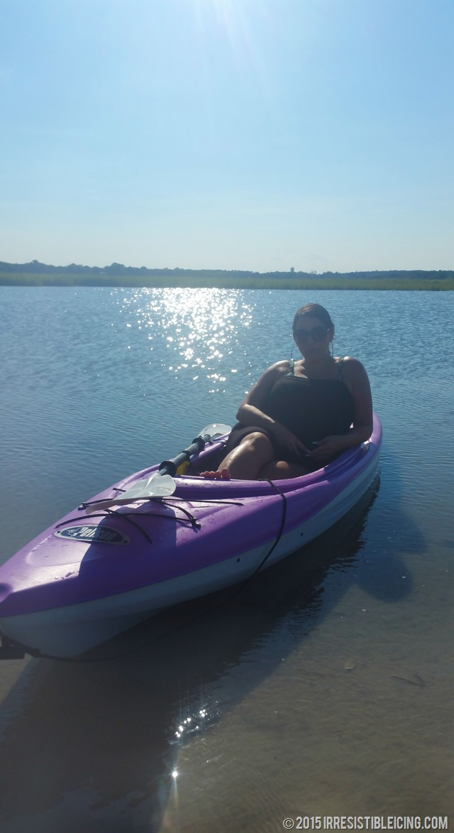 Aimee Purple Pelican Kayak