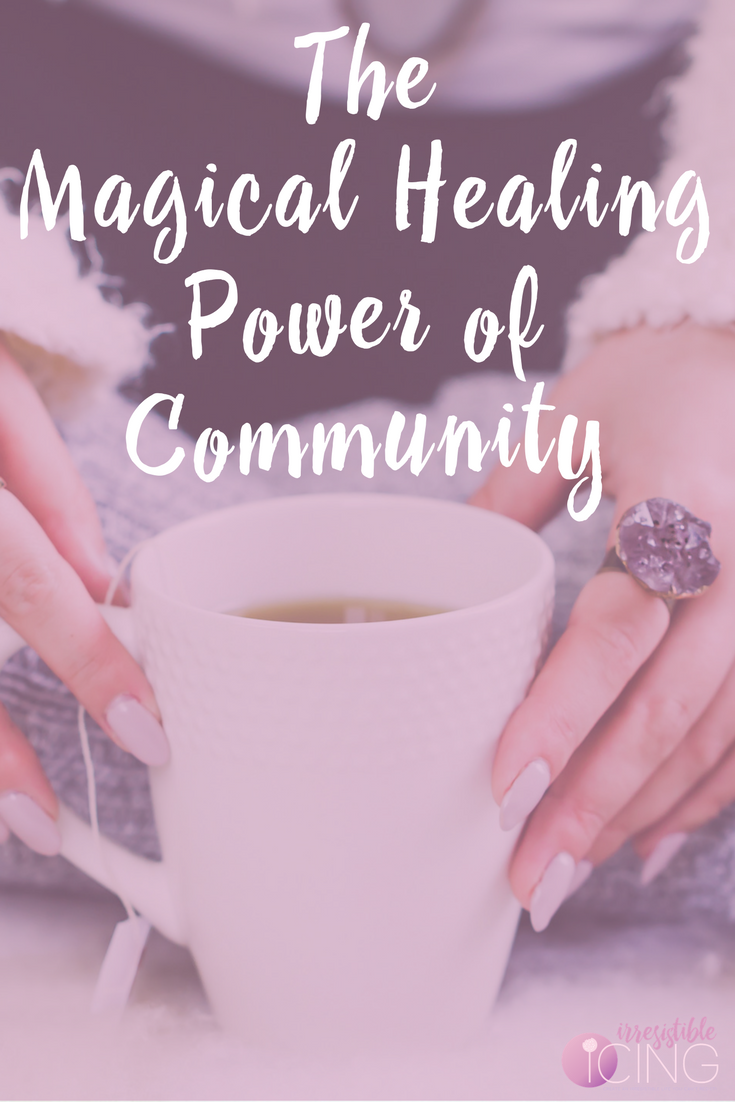 Do you feel alone-Community has the power to help heal emotional eating and body image issues. Join my free Facebook Group to start creating your irresistible life!